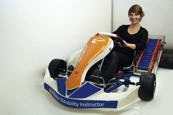 LeXsolar - EMobilidade: Automóvel elétrico didático