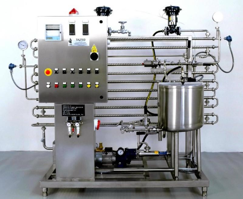 Pasteurizador de Tubos Concentricos